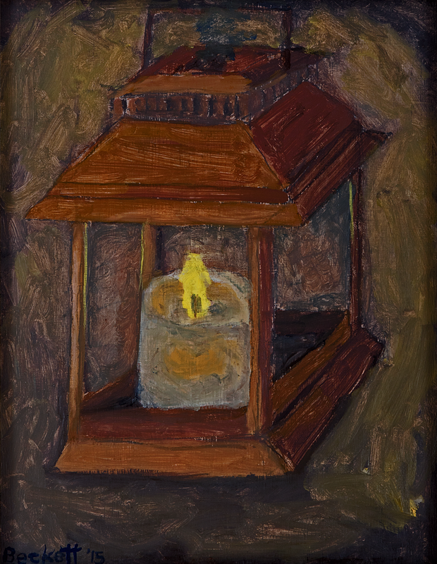 A Lantern to Light the Way   11 in x 14 in Oil on Panel 2015   Private Collection of Karen & Michael Orr